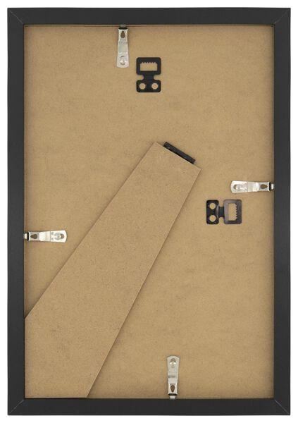 fotolijst hout 20x30 - zwart - 13611131 - HEMA