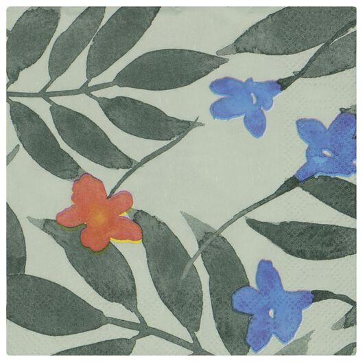 servetten 24x24 papier planten - 20 stuks - 14200441 - HEMA