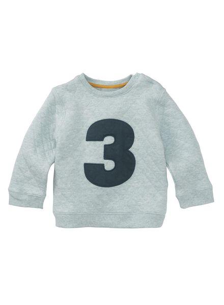 babysweater groen groen - 1000010710 - HEMA