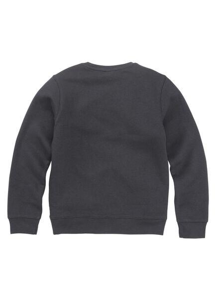 kindersweater antraciet antraciet - 1000011028 - HEMA
