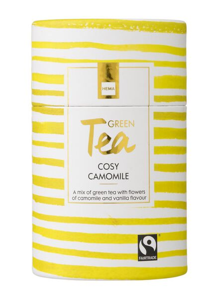 cosy camomile groene thee fairtrade - 60900130 - HEMA