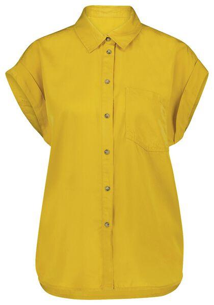damesblouse geel geel - 1000024015 - HEMA