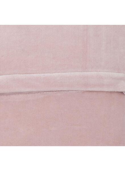 kussenhoes - 40 x 40 - roze - 7391042 - HEMA