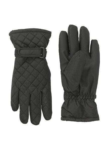 dameshandschoenen zwart S - 16460246 - HEMA