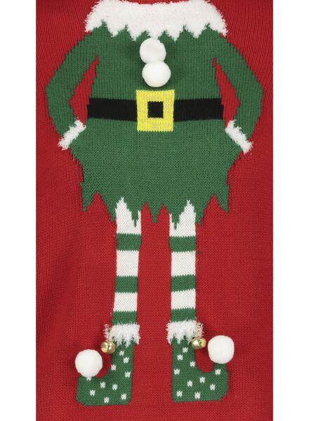 kersttrui volwassenen elf rood rood - 1000016974 - HEMA
