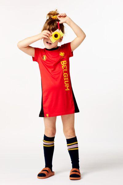 EK voetbal kinderjurk rood - 1000019546 - HEMA