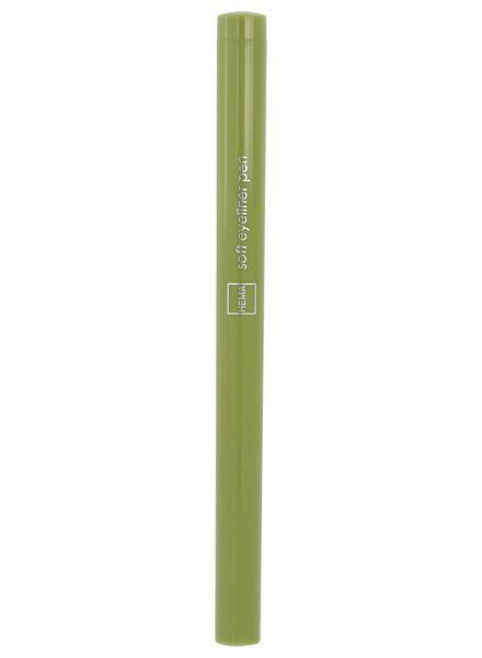 soft eyeliner waterproof 82 army green - 11210182 - HEMA