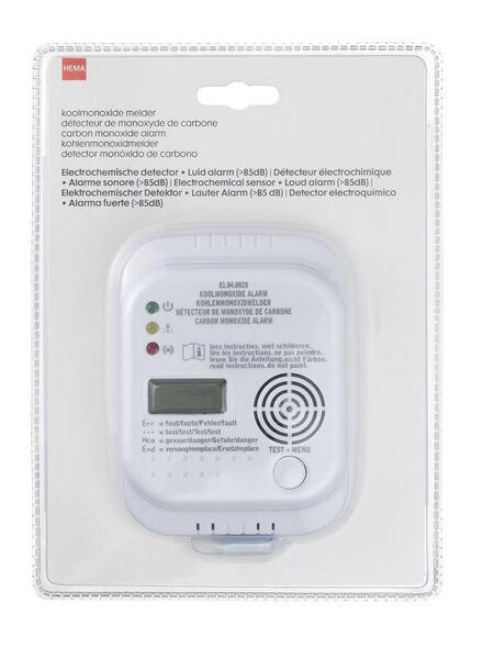 koolmonoxide melder - 81040020 - HEMA