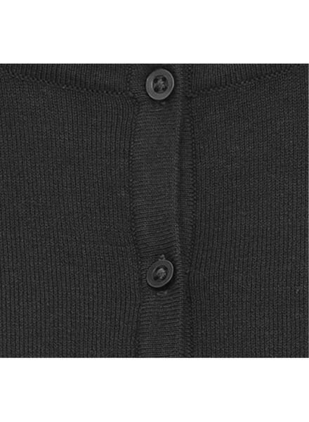 damesvest zwart zwart - 1000009736 - HEMA
