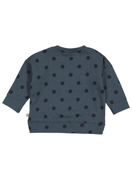 babysweater blauw blauw - 1000014934 - HEMA