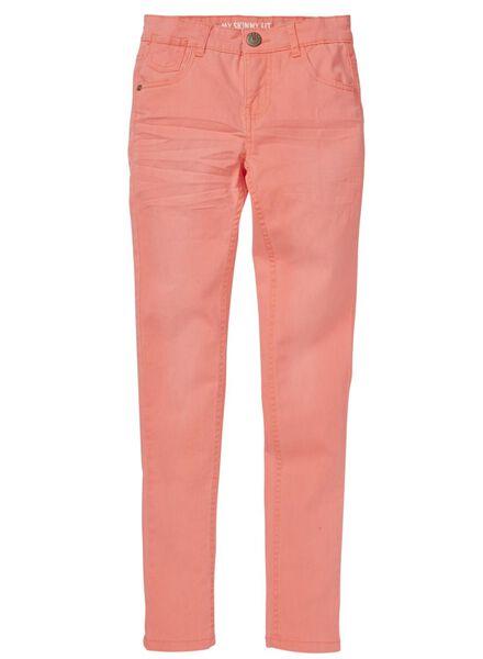 kinderbroek skinny fluor roze fluor roze - 1000008655 - HEMA
