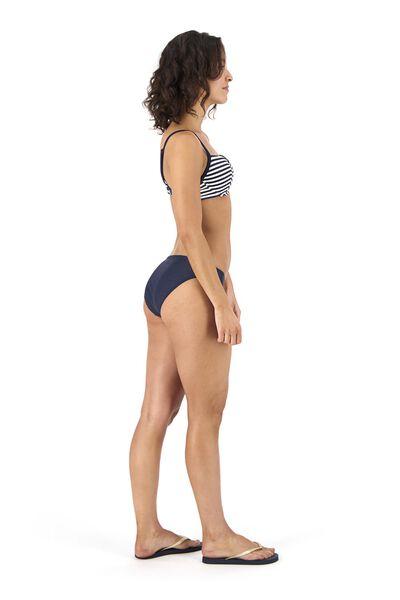 dames bikinislip recycled blauw blauw - 1000017912 - HEMA