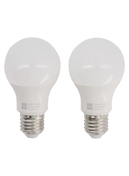 LED lamp 40W - 470 lm - peer - mat - 2 stuks - 20090039 - HEMA