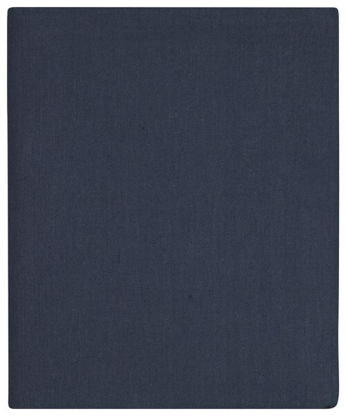 tafellaken 140x240 chambray katoen - donkerblauw - 5300097 - HEMA