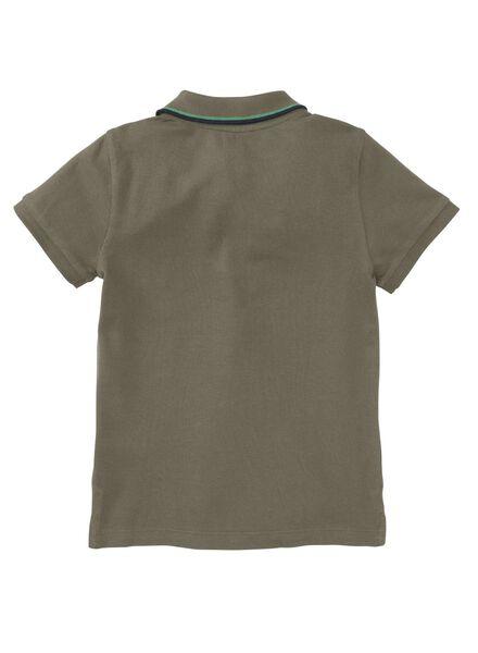 kinderpolo legergroen - 1000003593 - HEMA