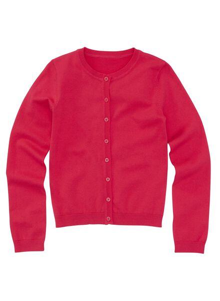 meisjesvest roze roze - 1000005658 - HEMA