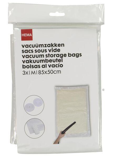 vacuümzakken medium 85x50 - 3 stuks - 39891031 - HEMA