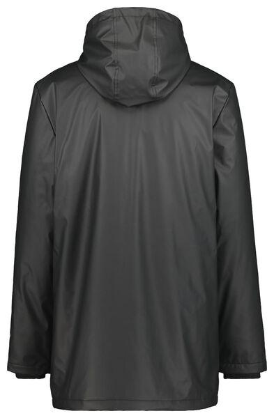 herenjas met capuchon zwart zwart - 1000020767 - HEMA