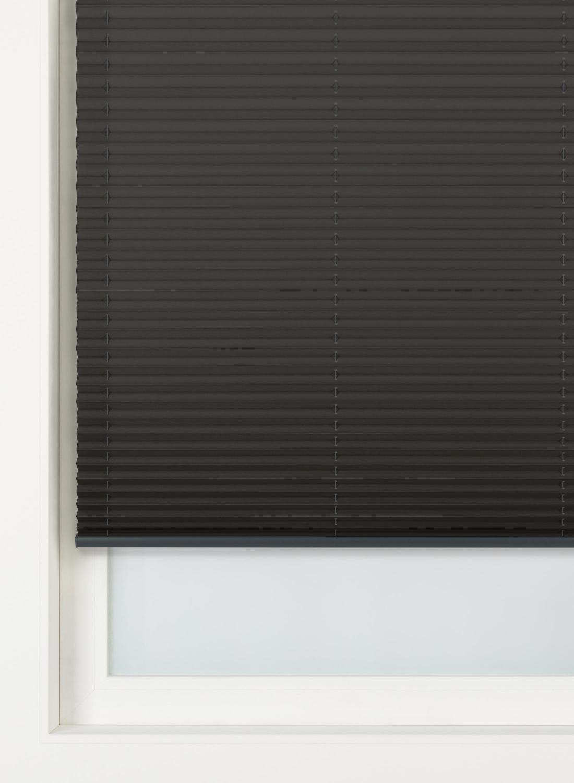 HEMA Pliss�gordijn Uni Vlamvertragend 20 Mm Zwart (zwart)