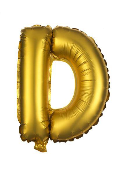 folie ballon A-Z goud goud - 1000019571 - HEMA