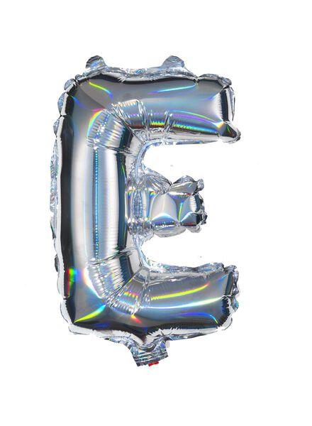 folieballon E - zilver E zilver - 60800436 - HEMA