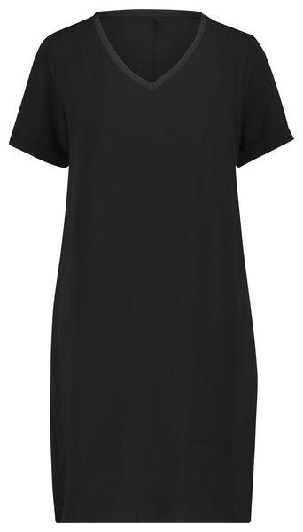 damesjurk recycled zwart zwart - 1000022998 - HEMA