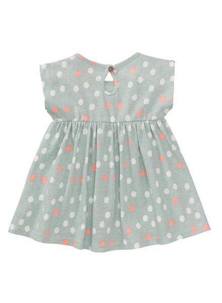 baby jurk groen groen - 1000007286 - HEMA