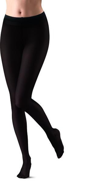 velvet temptech panty opaque 60 denier zwart 36/38 - 4072046 - HEMA