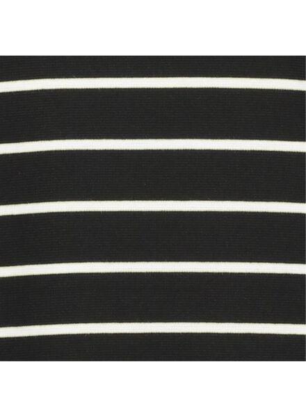 damesjurk zwart/wit zwart/wit - 1000014826 - HEMA
