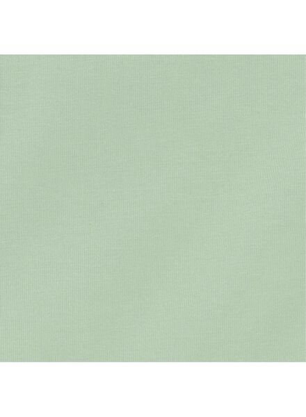 romper organic katoen stretch mintgroen mintgroen - 1000011454 - HEMA