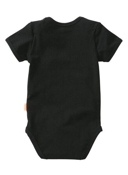 baby romper zwart - 1000007672 - HEMA