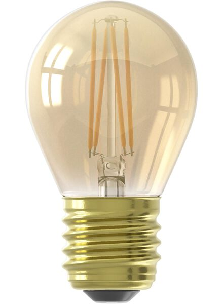 LED lamp 3,5W - 200 lm - kogel - goud - in Lichtbronnen
