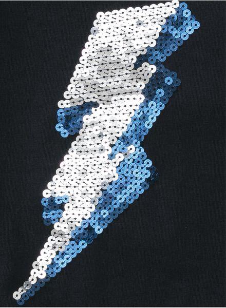 kinder t-shirt donkerblauw donkerblauw - 1000007325 - HEMA