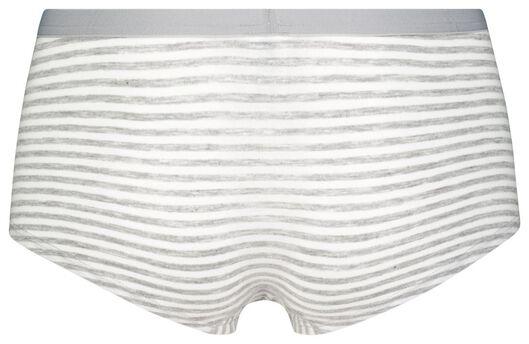 tienerboxer grijsmelange grijsmelange - 1000025085 - HEMA