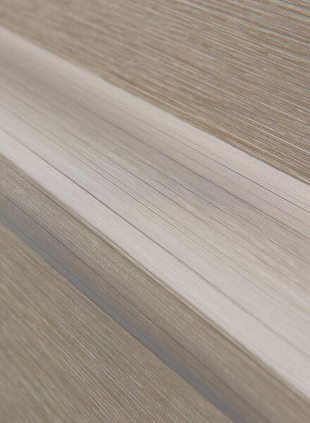 duo rolgordijn melange zand - 7410241 - HEMA