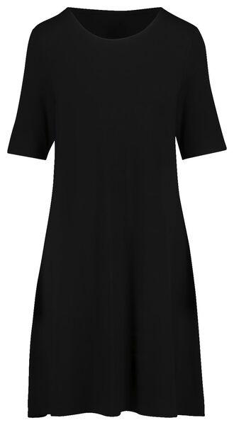 damesjurk zwart zwart - 1000019239 - HEMA