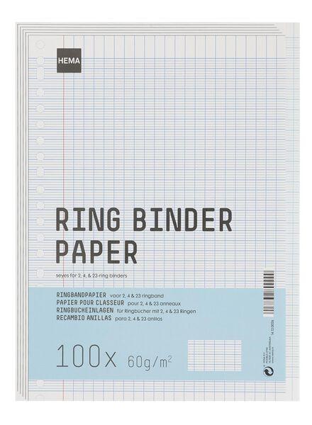 ringbandpapier - 14130026 - HEMA