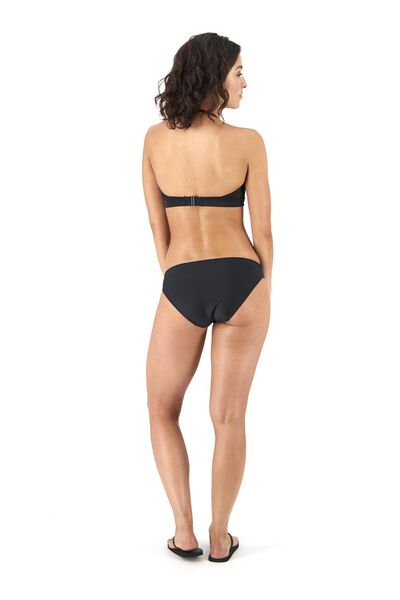 dames bikinislip recycled zwart zwart - 1000017897 - HEMA