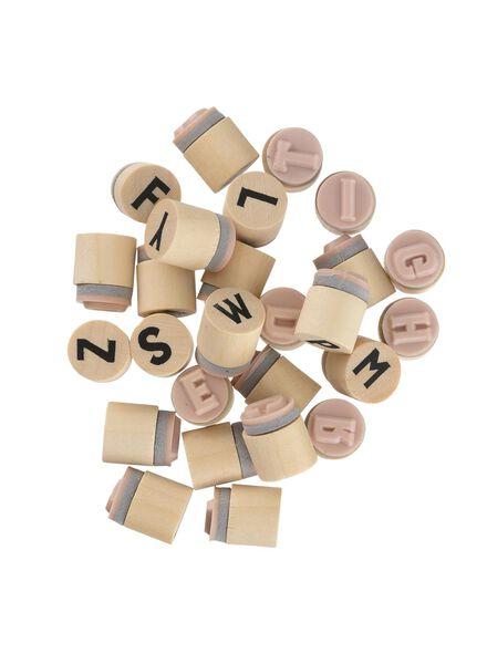 stempels alfabet - 25300523 - HEMA