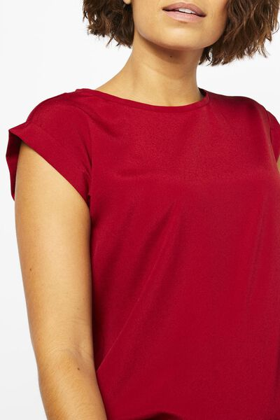 dames top rood rood - 1000022101 - HEMA