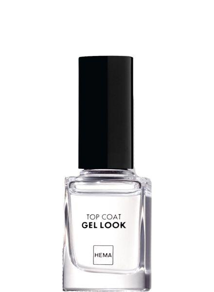 top coat nailpolish gel look - 11244518 - HEMA