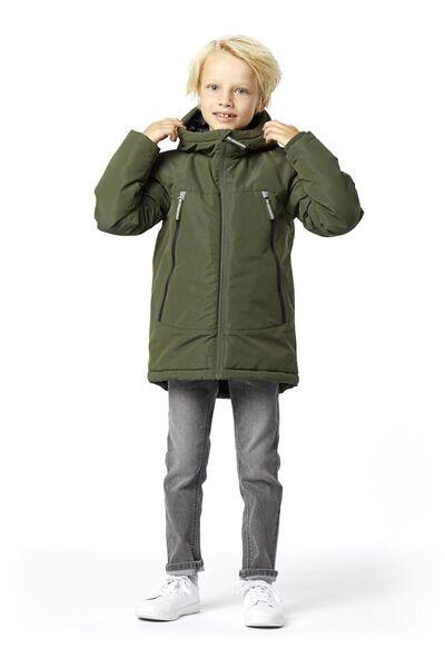 kinderjas legergroen legergroen - 1000020213 - HEMA