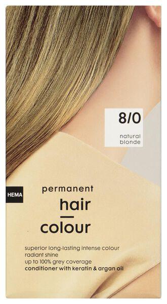 haarkleuring natuurlijk blond 8/0 - 11050034 - HEMA