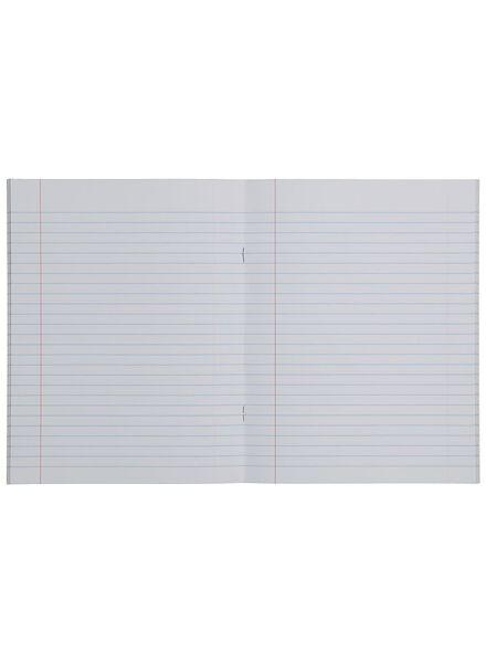 schriften 16.5 x 21 cm - gelinieerd - 10 stuks - 14501470 - HEMA