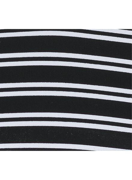 dames bikinitop zwart/wit zwart/wit - 1000011801 - HEMA