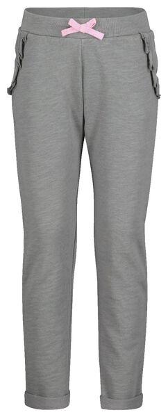 kinder sweatbroek grijs grijs - 1000017691 - HEMA