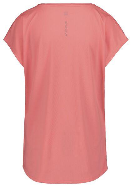 dames sportshirt loose fit roze roze - 1000018826 - HEMA