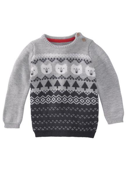 newborn trui gebroken wit gebroken wit - 1000010672 - HEMA