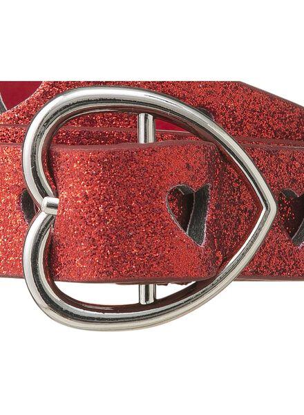 kinderriem rood rood - 1000009503 - HEMA