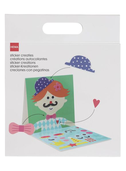 sticker creaties - 15920151 - HEMA